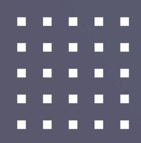 Квадратная перфорация без смещения отверстий Qg