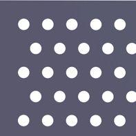 Круглая перфорация со смещенными рядами отверстий Rv
