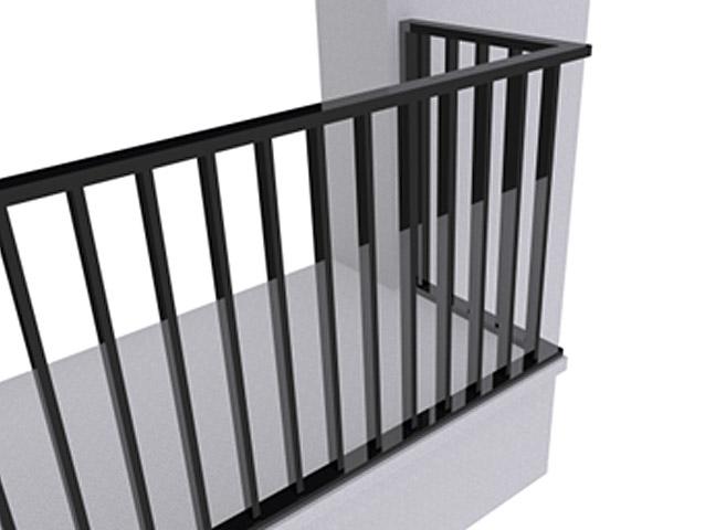 Ограждение балконов ОБ-1