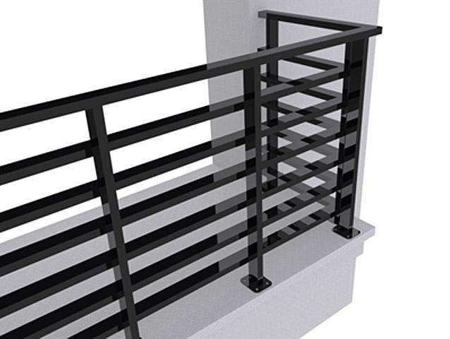 Ограждение балконов ОБ-2