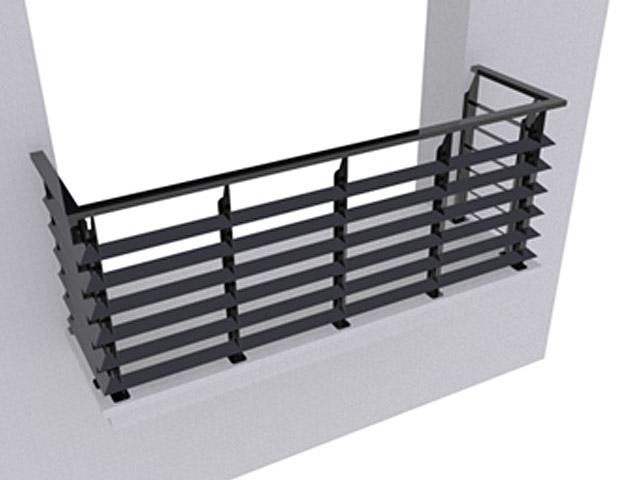 Ограждение балконов ОБ-4