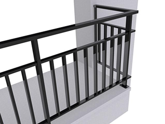 Ограждение балконов ОБ-6