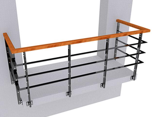 Ограждение балконов ОБ-7