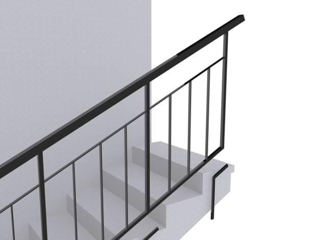 Ограждение лестниц ОГ 1-1sk