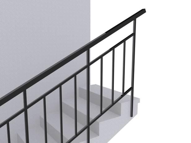 Ограждение лестниц ОГ 1-2