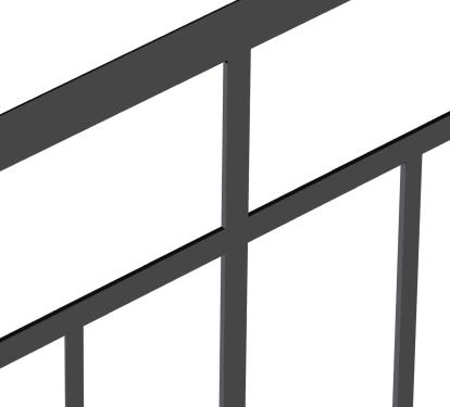 Ограждение лестниц ОГ 1-2СК
