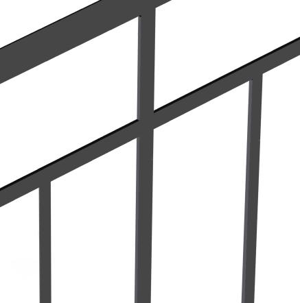 Ограждение лестниц ОГ1-2